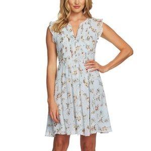 CeCe by Cynthia Steffe, Floral print dress size 4